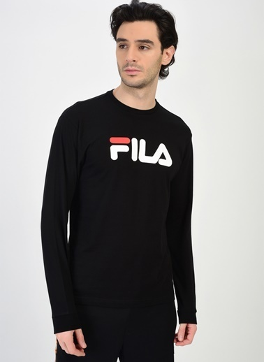 Fila Fila Classic Pure Long Sleeve T-Shirt Siyah